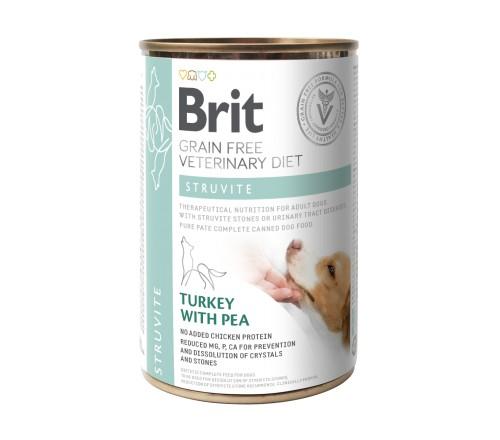 Brit Struvite VD κλινικη διαιτα κονσερβα σκυλου Grain Free για διαλυση στρουβιτη