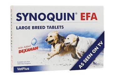 Synoquin συμπληρωμα διατροφης σκυλου βιταμινες για σκυλους με οστεοαρθριτιδα & ηλικιωμενους σκυλους