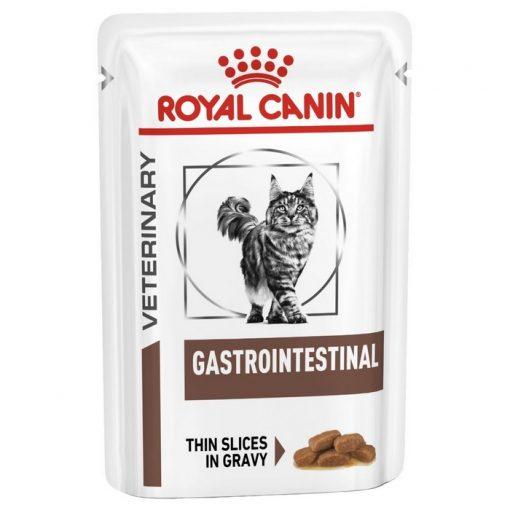 Royal Canin Gastro Intestinal κονσερβα κλινικες διαιτες γατας με χρονια, οξεια διαρροια, γαστρεντεριτιδα, κολιτιδα