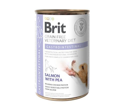 Κλινικη διαιτα Brit κονσερβα σκυλων Gastrointestinal VD Grain Free για γαστρεντεριτιδα - διαρροια σκυλου