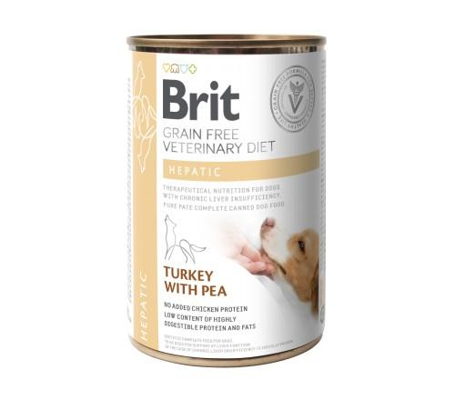 Brit Hepatic κονσερβα σκυλου κλινικη διαιτα Grain Free για σκυλους
