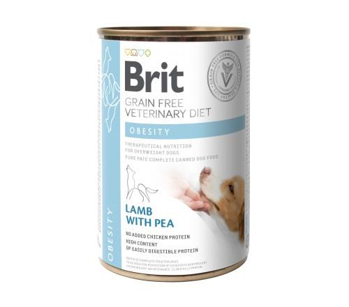 Brit Obesity VD κονσερβα κλινικη διαιτα για σκυλους