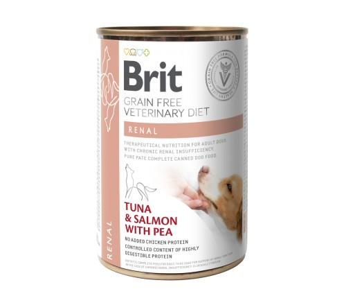 Brit VD Renal κονσερβες κλινικες διαιτες σκυλων
