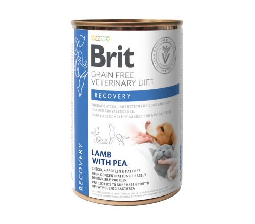 Brit Recovery VD κλινικη γατας κονσερβα σκυλου τροφη για σκυλους για αναρρωση
