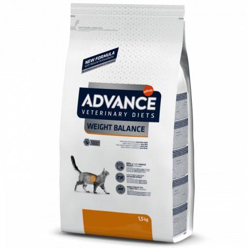 τροφη Advance Obesityκλινικη διαιτα για υπερβαρη γατα Weight Balance για μειωση βαρους.