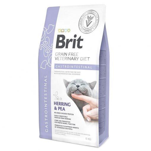 Brit κλινικες διαιτες για γατες Gastrointestinal για γαστρεντεριτιδα - εμετο - διαρροια γατας