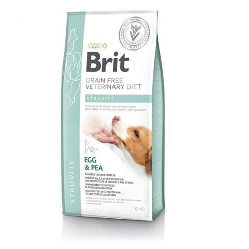 Brit Struvite Veterinary κλινικη διαιτα σκυλου Grain Free για διάλυση στρουβιτη - ουρολιθιαση
