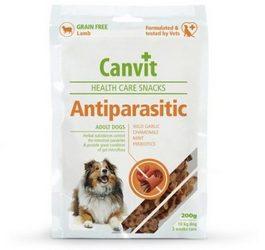 λιχουδιες σκυλου Canvit Antiparasitic για ρυθμιση εντερικης μικροχλωριδας