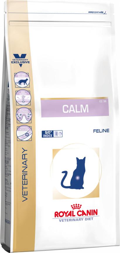 κλινικη διαιτα Royal Canin για γατα Calm για αγχος στρες