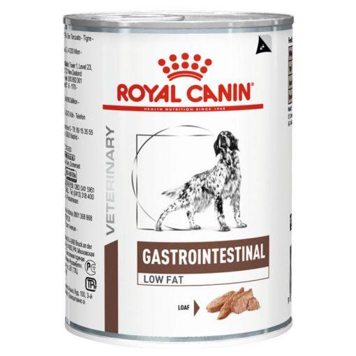 Royal canin κονσερβα κλινικη διαιτα σκυλου gastro intestinal low fat με γαστρεντερολογικα προβληματα