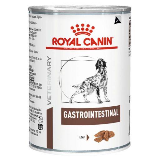 κλινικη διαιτα Royal Canin Gastro Intestinal είναι μια πλήρης διαιτητική κονσερβα σκυλου