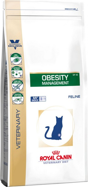 τροφη κλινικη διαιτα για υπερβαρη γατα Royal Canin Obesity για μειωση βαρους