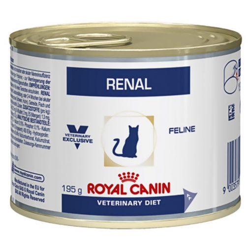 Royal Canin Renal κονσερβα τροφες κλινικες διαιτες για γατα