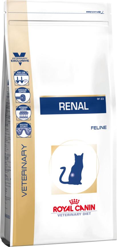 κλινικη διαιτα Renal γατας Royal Caninείναι μια πλήρης διαιτητική τροφή για γάτες
