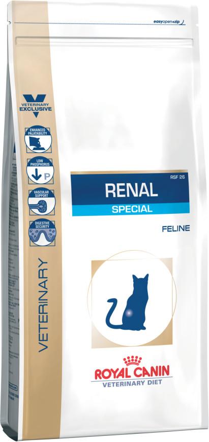 Κλινικη διαιτα για γατα Renal Special Royal Canin