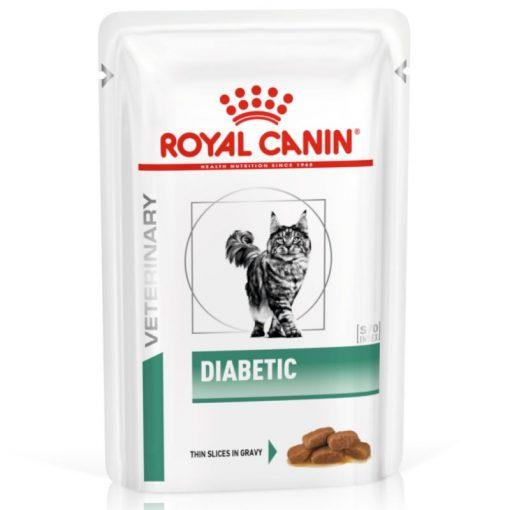 Υγρη τροφη γατας Royal Canin Diabetic κλινικες διαιτες για γατα με σακχαρωδη διαβητη