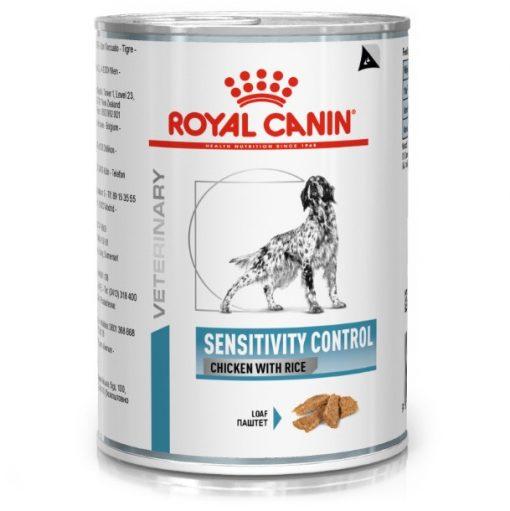 Κλινικη διαιτα κονσερβα royal canin σκυλων με δυσανεξια sensitivity control