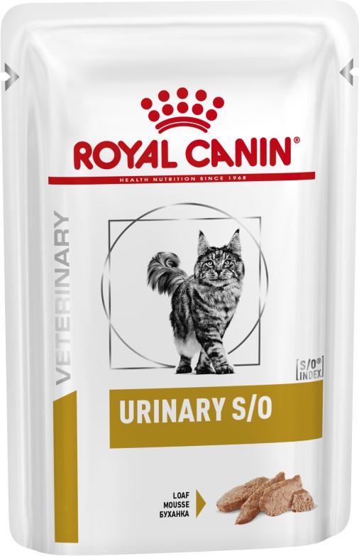 Royal Canin Urinary S/O κλινικη διαιτα γατας κονσερβα για ουρολιθιαση