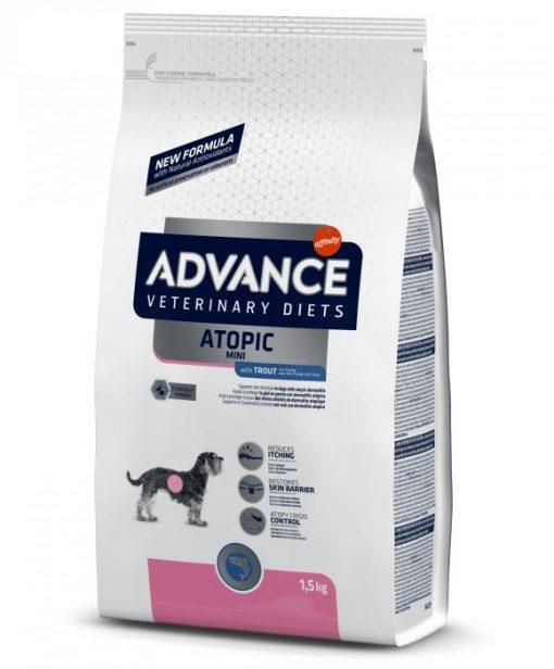τροφη σκυλου Advance Atopic Mini κλινικη διαιτα σκυλων με ατοπικη δερματιτιδα