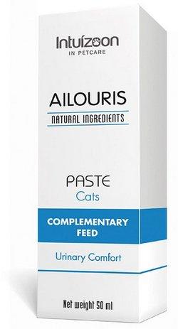 Intuizoon Ailouris φυσικο συμπληρωμα διατροφης γατας με ιδιοπαθη κυστιτιδα